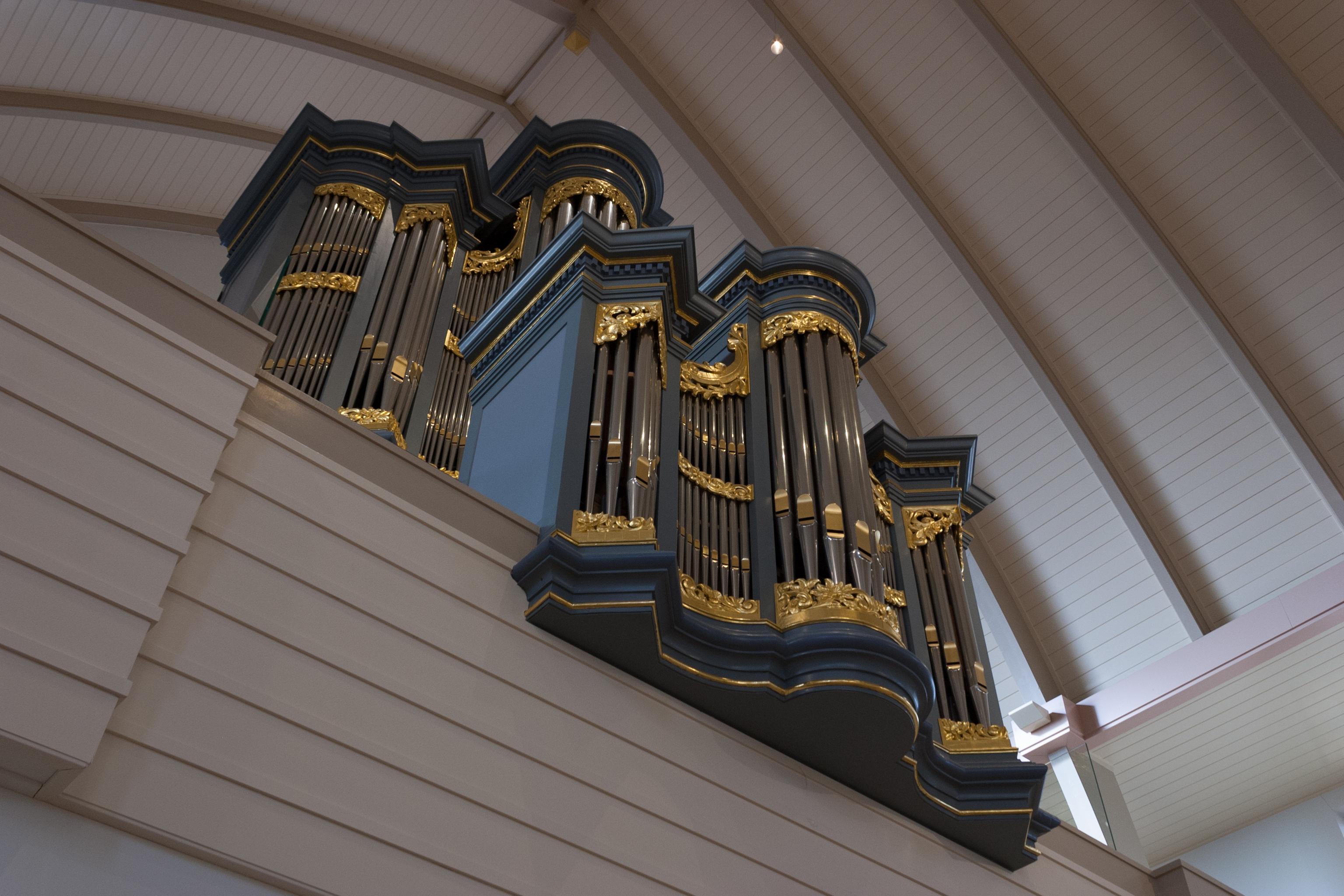 Strumphler orgel frontale foto